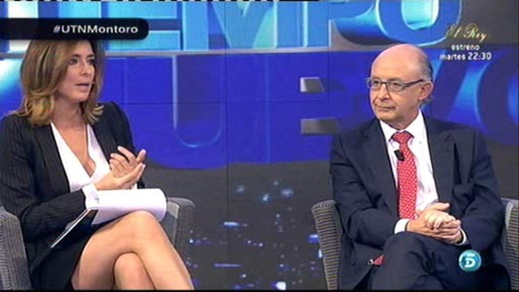"""Cristóbal Montoro: """"La economía española empieza a respirar"""""""