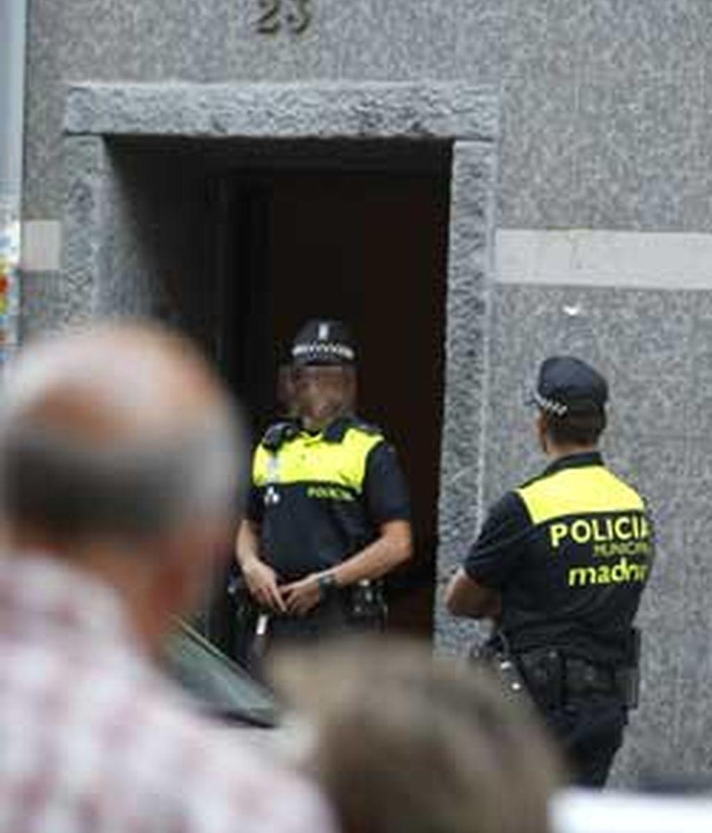 Los cuerpos de los ancianos se encontraron en el domicilio madrileño de Vallecas. FOTO: EFE