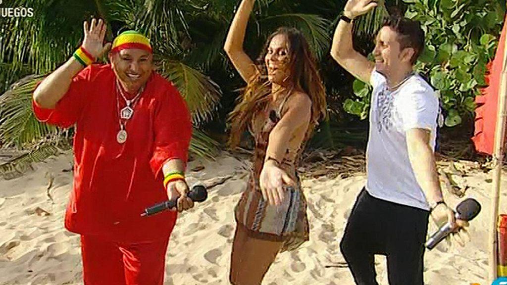 Lara Alvarez baila… ¡El cocodrilo!