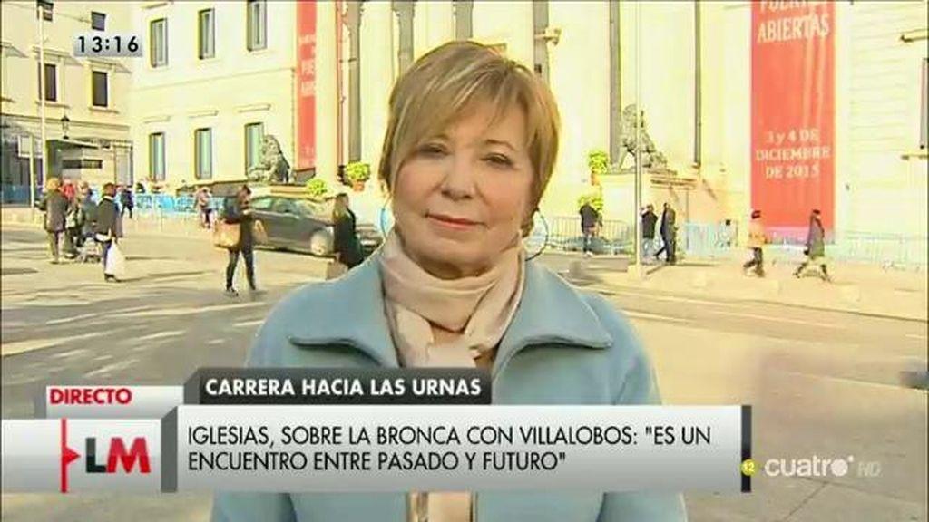 """Villalobos: """"Iglesias no puede decir que el PP es corrupto como si él fuera un ángel caído del cielo que ha venido a salvarnos"""""""