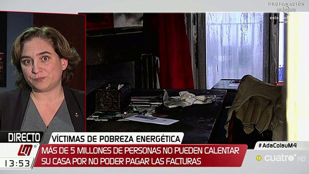 """Colau: """"Los ayuntamientos estamos solos en la trinchera y estamos obligados a dar respuesta en situaciones de emergencia"""""""