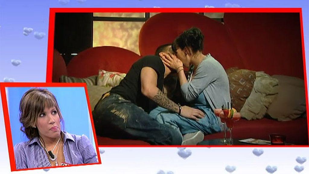 Para Laura también hubo beso
