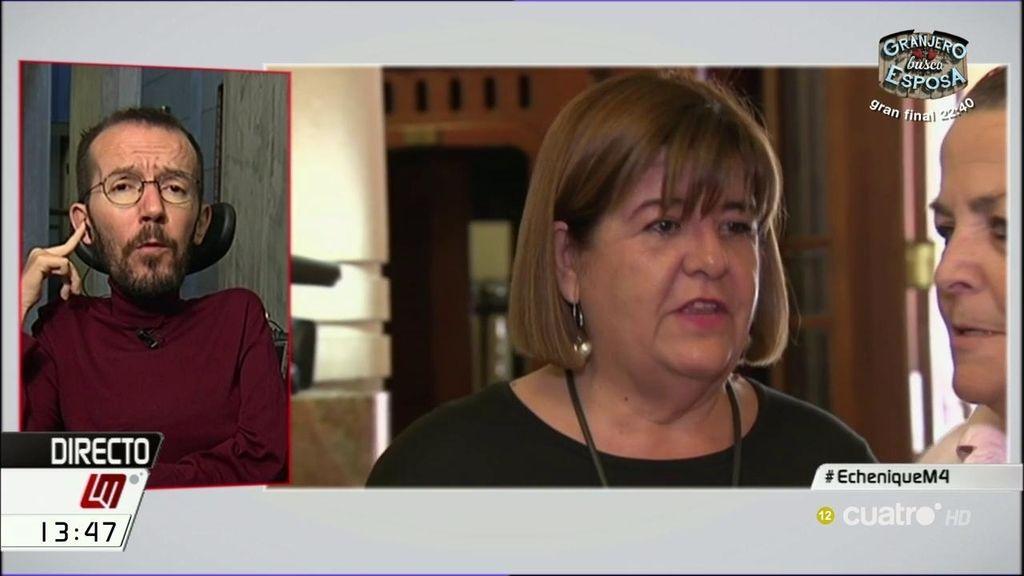 Pablo Echenique habla del último conflicto balear por corrupción en Podemos