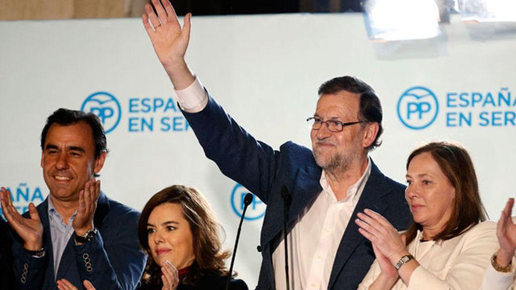 """Rajoy: """"Hemos ganado las elecciones"""""""