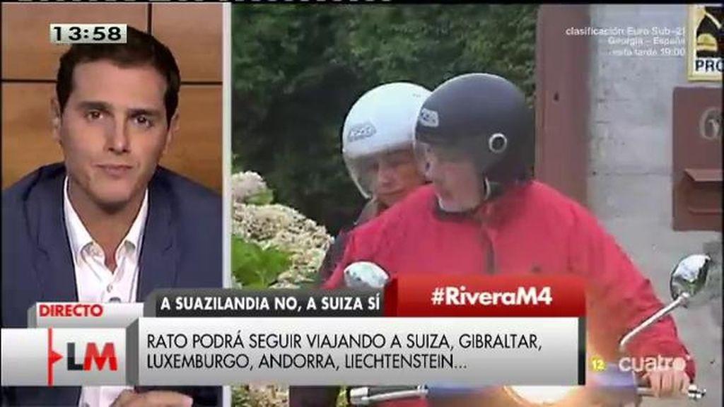 """Albert Rivera: """"No considero serio lo que ha hecho el PP en los últimos años"""""""