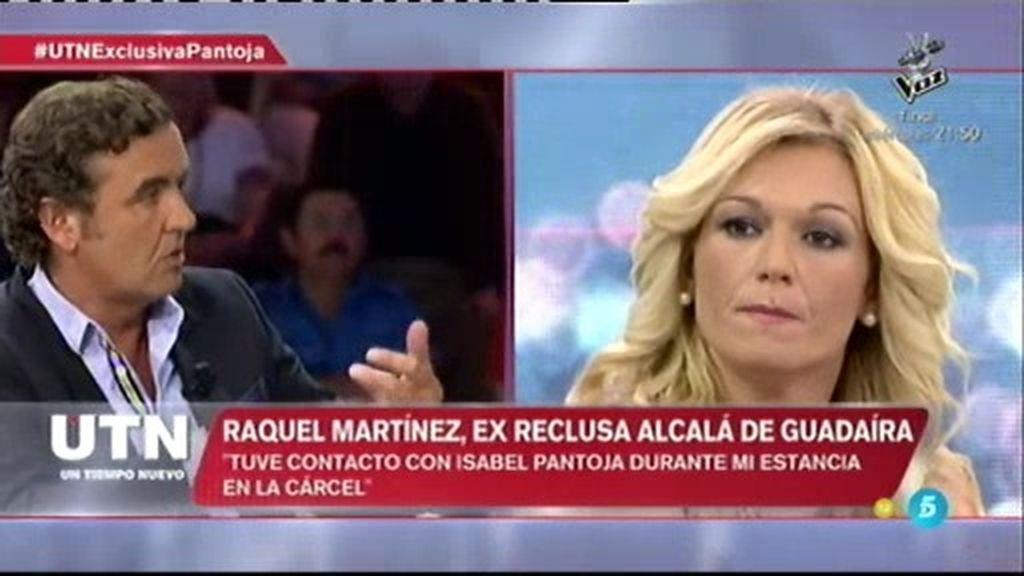 """Raquel Martínez, expresa: """"I. Pantoja puede lavar la ropa todas las veces que quiera"""""""