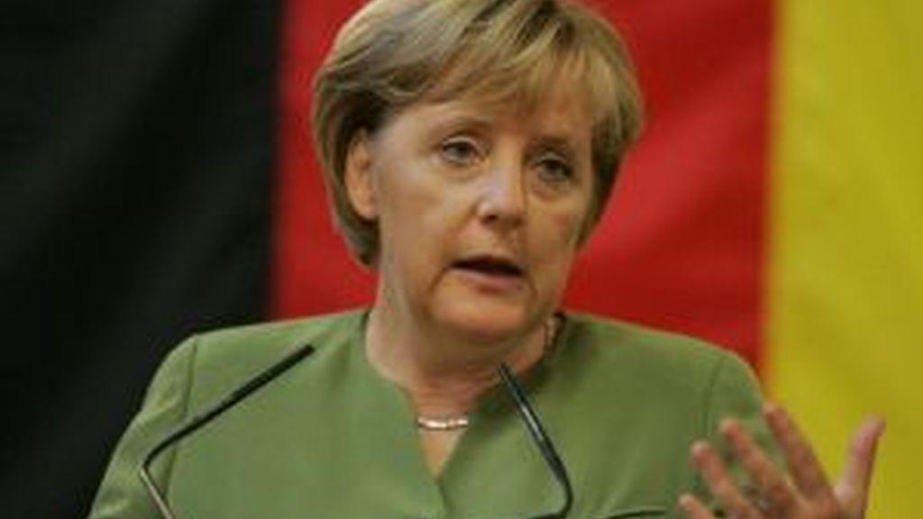 Merkel, austeridad germana. Foto: EFE.