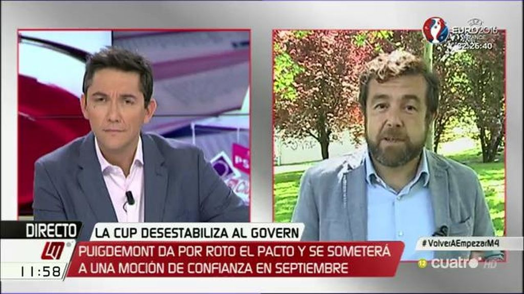 La entrevista de Miguel Gutiérrez, a la carta