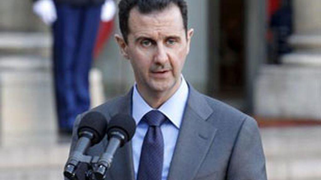 El presidente de Siria, Bashar al Assad, en una imagend e archivo.