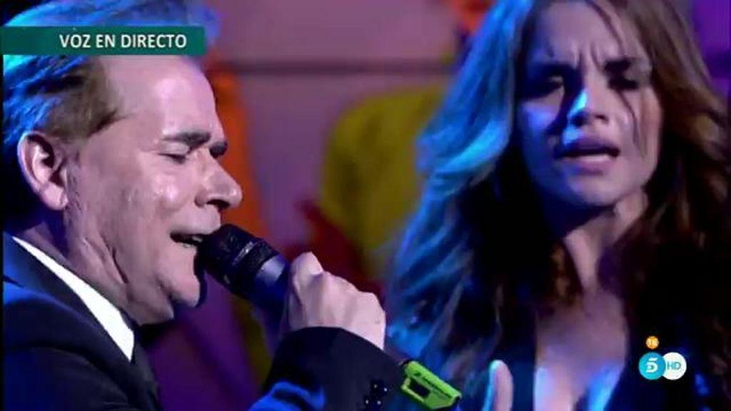 ¡Melody y su padre Lorenzo actuán en directo en el 'Deluxe'!