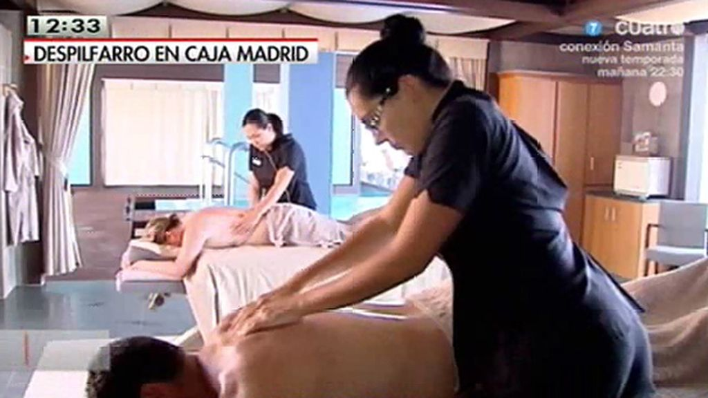 El alto nivel de vida de los directivos de Caja Madrid