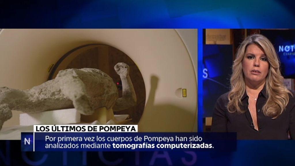 La cara del horror: Por primera vez se analizan los cuerpos de Pompeya