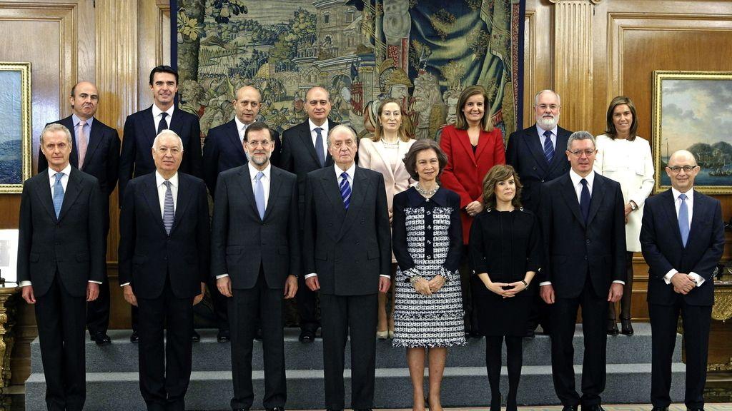 El nuevo Gobierno tras jurar sus cargos