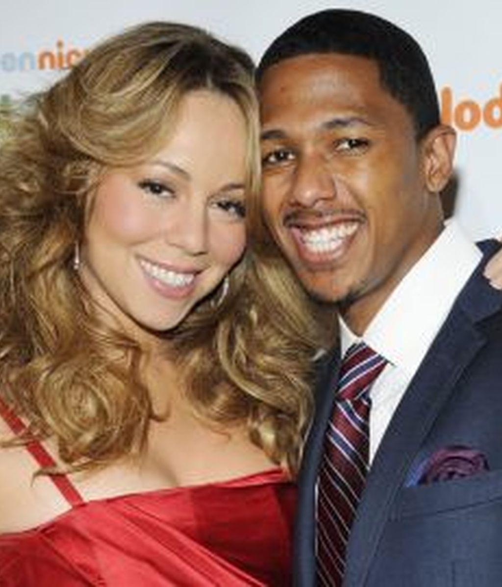 Mariah Carey y su marido, Nick Cannon, han sido padres de gemelos. Foto: Gtres.