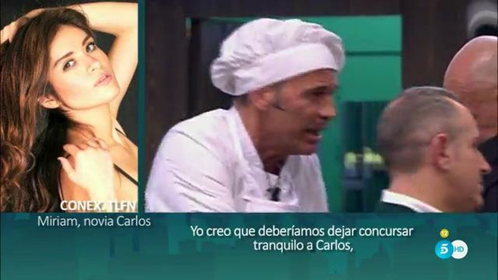 Las primeras palabras de la novia modelo de Carlos Lozano, en el 'Deluxe'