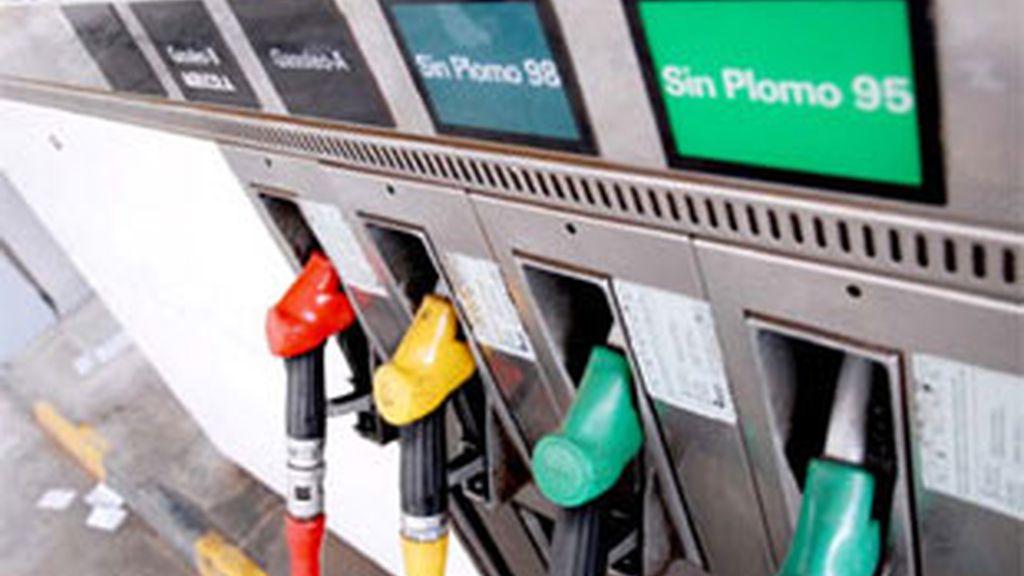 Los carburantes suben sin cesar.