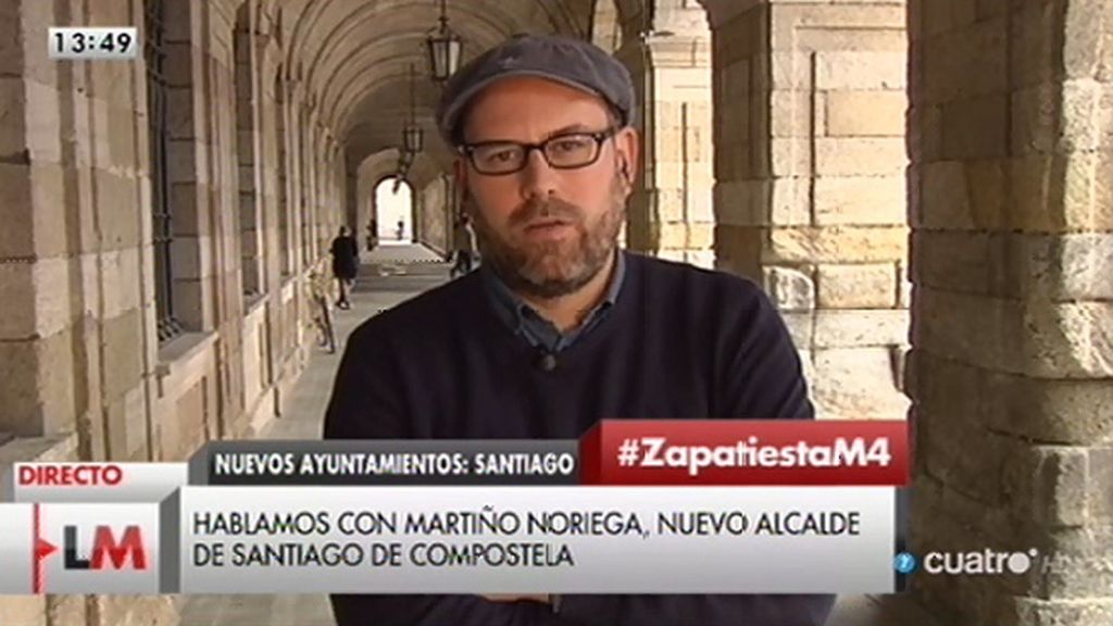 """Martiño Noriega: """"Cuando el PP habla de estabilidad, me dan ganas de reír"""""""