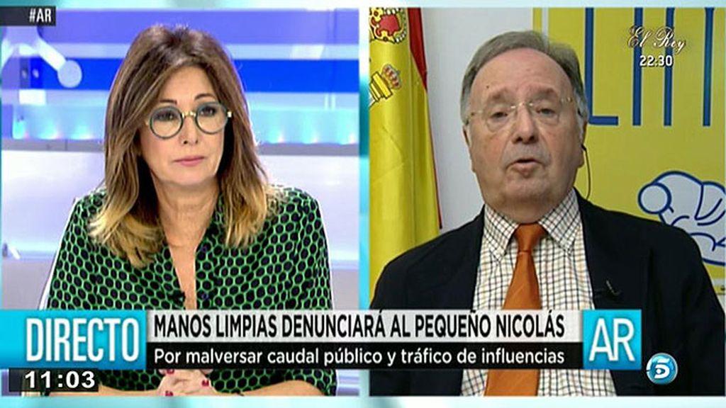 'Manos Limpias' se querellará contra el 'Pequeño Nicolás' y el coordinador de seguridad del Ayuntamiento