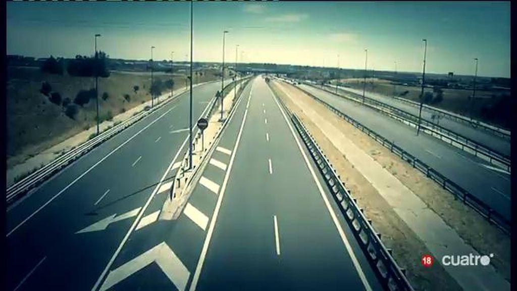 Autopistas vacías por las que los españoles aún debemos más de 3.500 millones de €