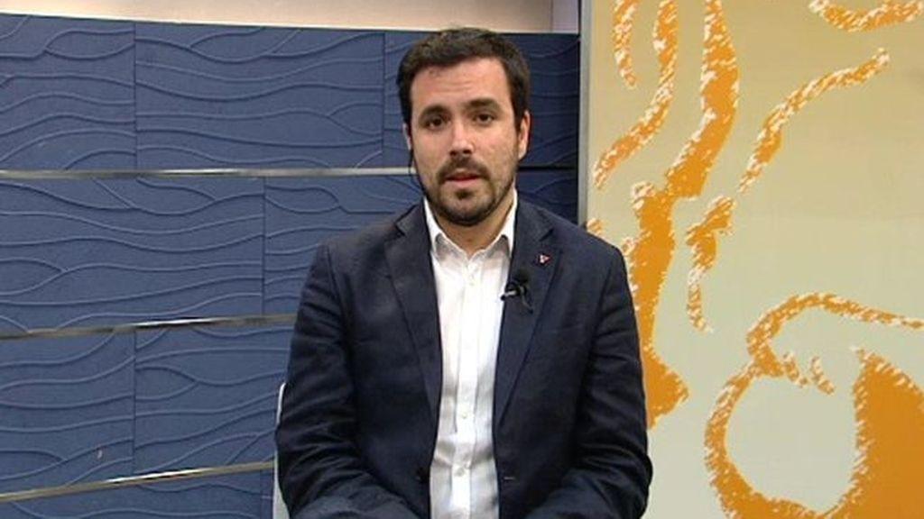 """Garzón a Iglesias: """"Necesitamos ponernos de acuerdo en una candidatura conjunta"""""""