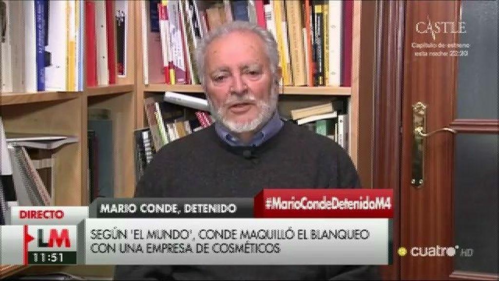 """Julio Anguita: """"Cuando hay voluntad política se acaba con los paraísos fiscales"""""""