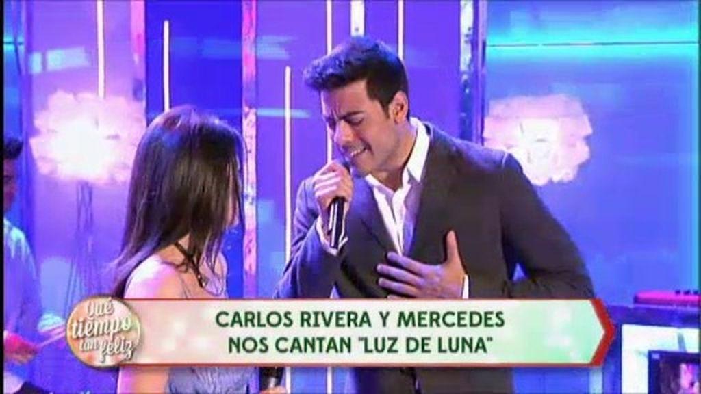 Carlos Rivera y Mercedes: 'Luz de luna'