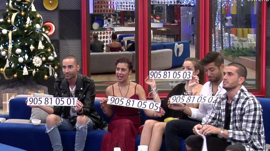Bea, Miguel, Rodrigo, Meritxell y Alain, los finalistas de 'GH17'