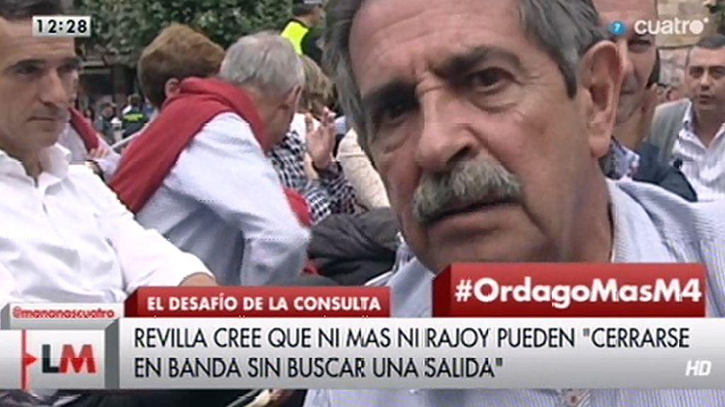 El mensaje de Revilla para Rajoy