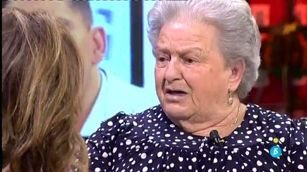 """Abuela de Rocío: """"Lo más que me duele es que M. Luisa diga que la quiere más que yo"""""""