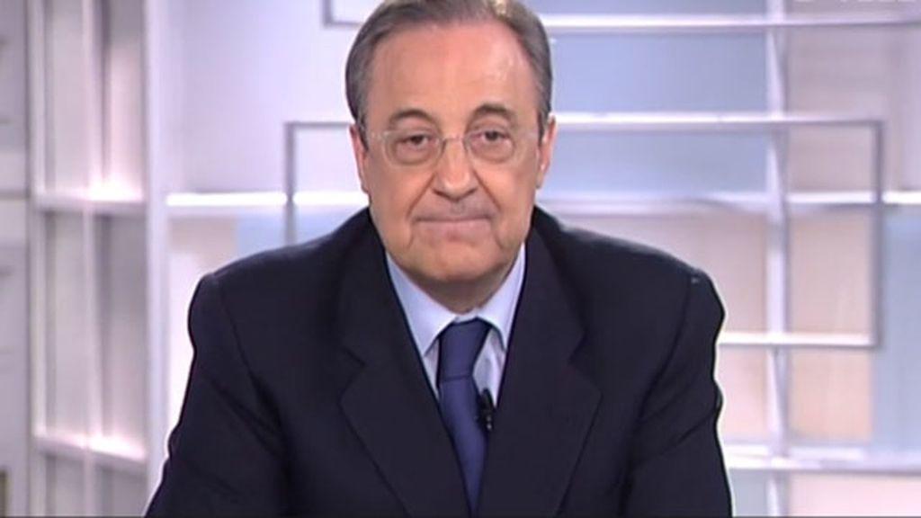 Florentino Pérez en Informativos Telecinco