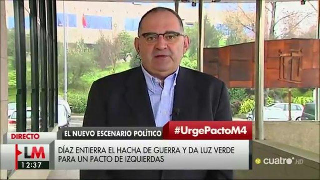 """Antón Losada: """"La guerra de cuñados en el PSOE ha terminado y hay un cuñado vencedor, Pedro Sánchez"""""""