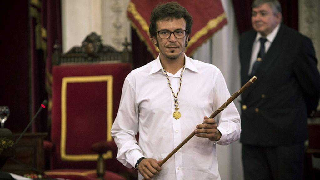 José María González, 'Kichi', nuevo alcalde de Cádiz