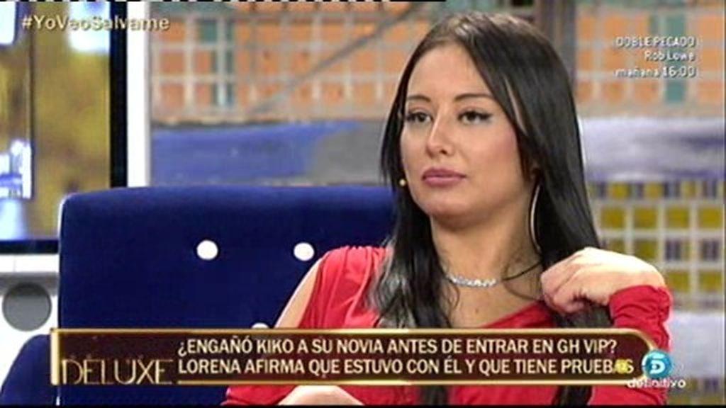 "Lorena: ""Kiko no quería solo sexo conmigo porque también cenamos"""