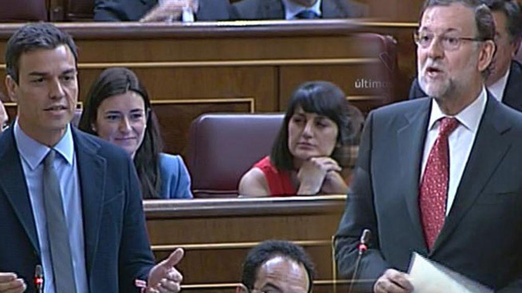 """Rajoy, a Sánchez: """"Para escribir sus papeles es bueno que lea antes algo"""""""