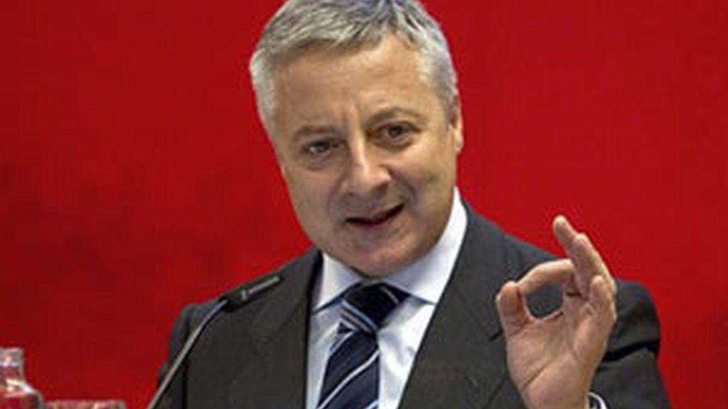 El ministro de Fomento y portavoz del Gobierno, José Blanco, en una imagen de archivo. Foto: EFE
