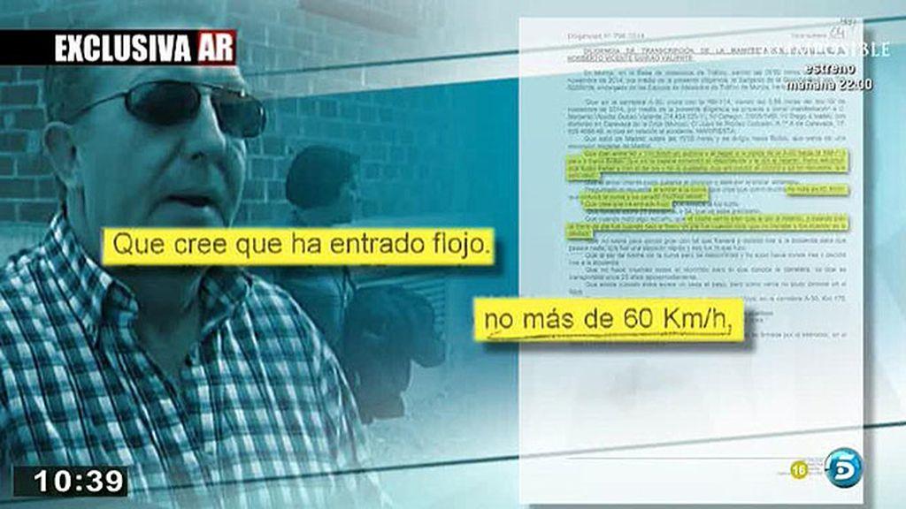 La declaración del conductor del autobús siniestrado en Cieza, en exclusiva en 'AR'