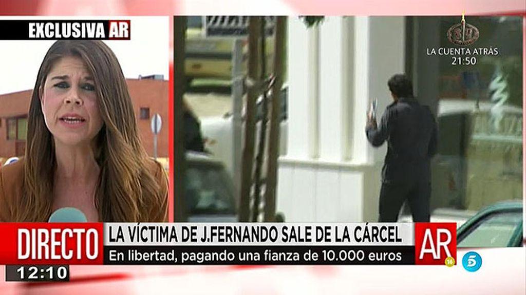 Jonathan, la víctima de J. Fernando y sus amigos, sale de prisión tras once meses