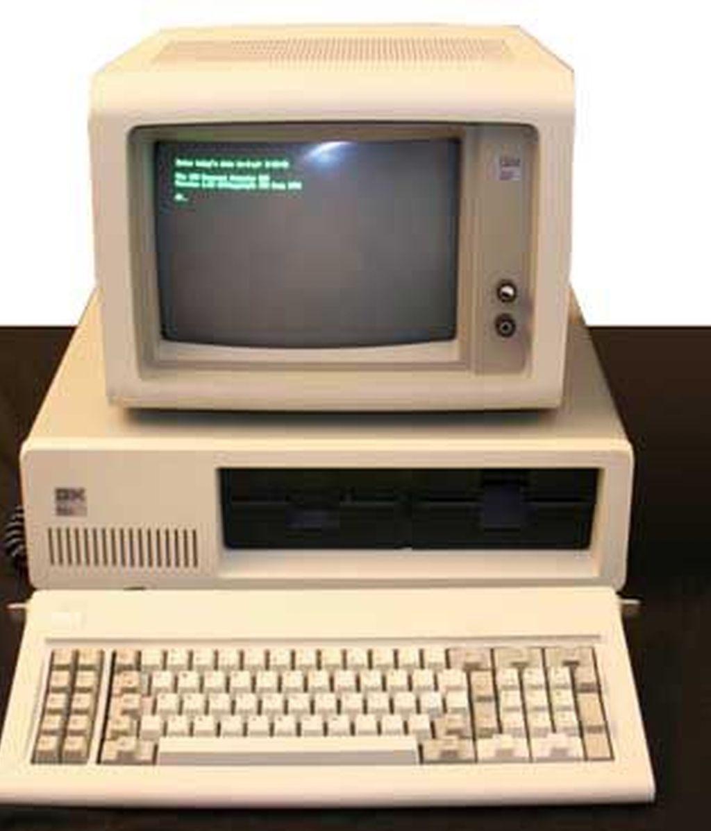 Los ordenadores personales, un invento de IBM que llegó tarde al mercado y con errores que le hicieron retrasarse en el sector tecnológico.