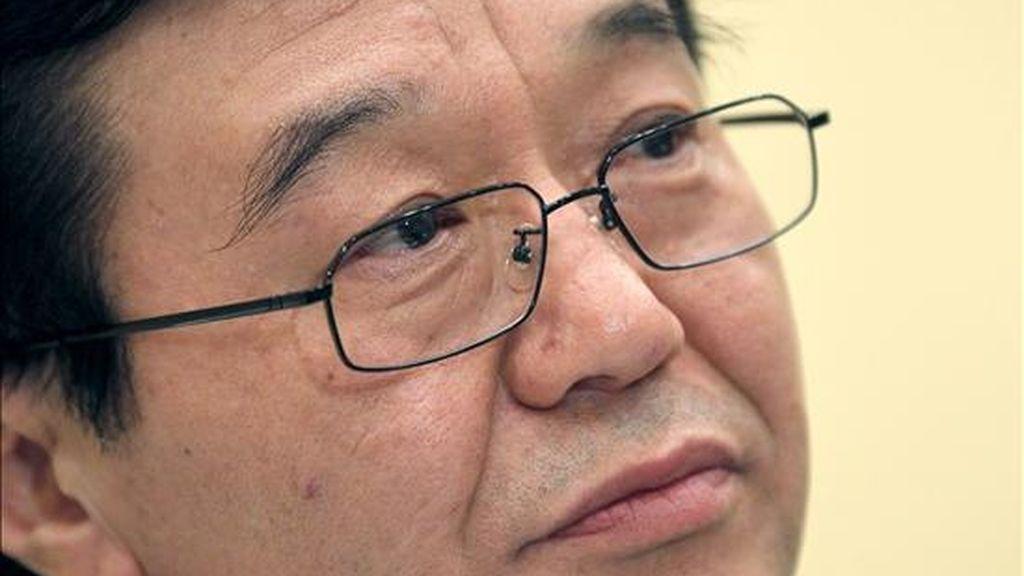 El viceministro chino de comercio, Gao Hucheng. EFE/Archivo