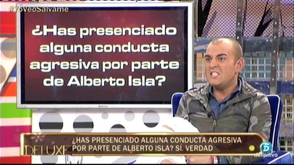 El polígrafo confirma que Gabi presenció alguna conducta agresiva de Alberto Isla