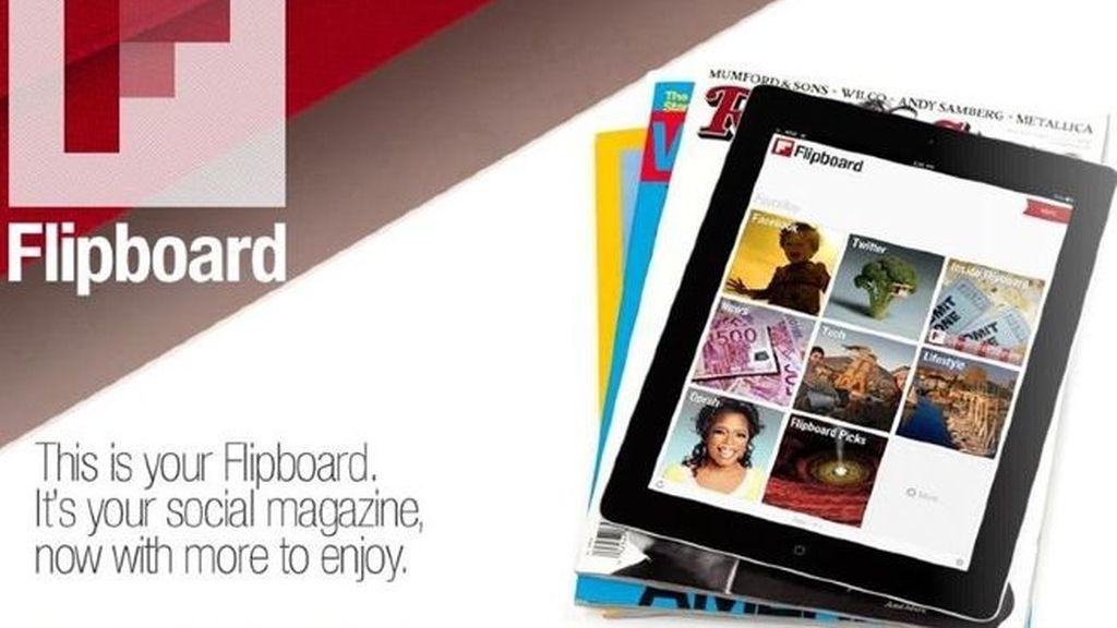 La aplicación genera una selección de artículos de medios tradicionales con información de redes sociales. Ahora estará disponible para los usuarios del iPhone.