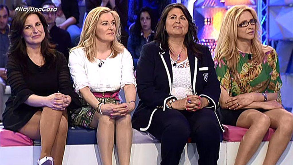 Conchi, Mari Ángeles, Mari Paz y Antonia se reencuentran con su amiga Ana