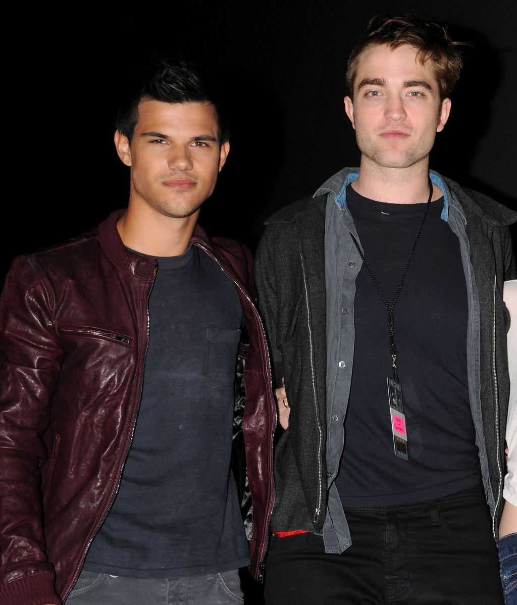 Rober Pattinson y Taylor Lautner