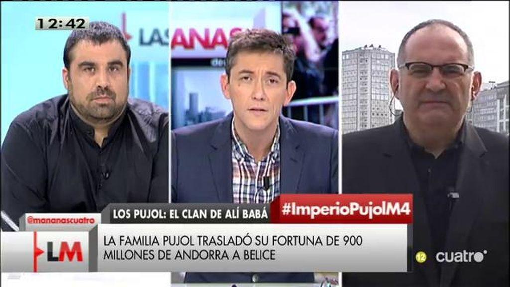 """Antón Losada: """"Si Mas no sabía lo que hacía la familia Pujol, su responsabilidad es por incompetencia"""""""