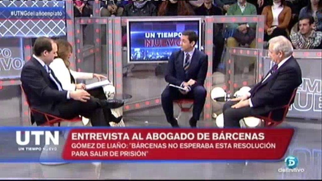 """Gómez de Liaño: """"Ignoro si Bárcenas tiene preparado un arsenal contra el PP"""""""