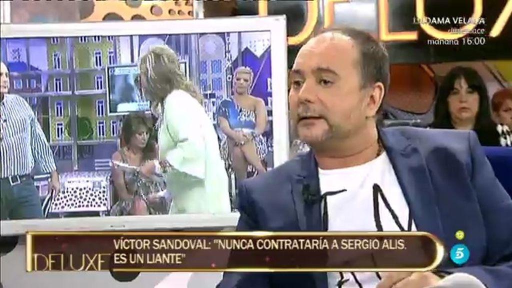 """Sergio Alis responde a Víctor Sandoval: """"Él me tiene un rencor real"""""""
