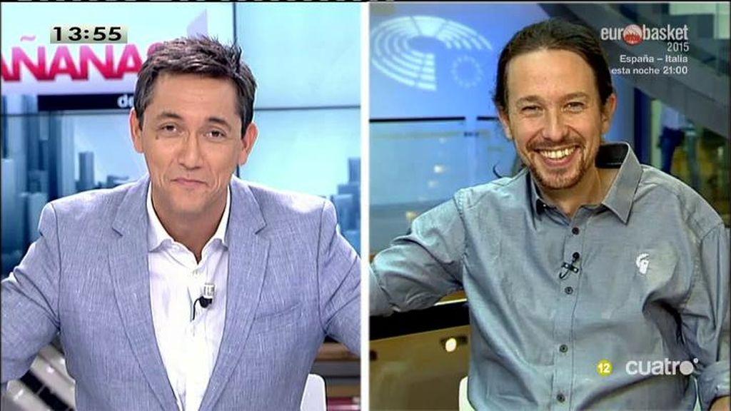 La entrevista completa de Pablo Iglesias