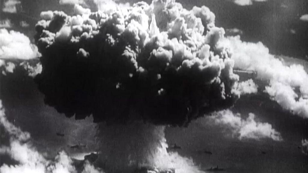 Los experimentos nucleares secretos de Estados Unidos en el atolón Bikini