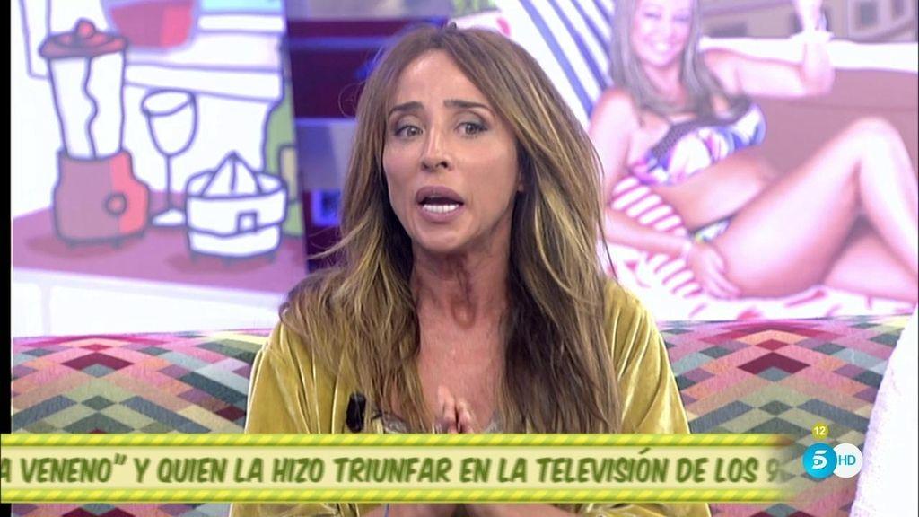 """María Patiño: """"Justo antes de entrar en el plató 'La Veneno' tuvo un problema de salud"""""""