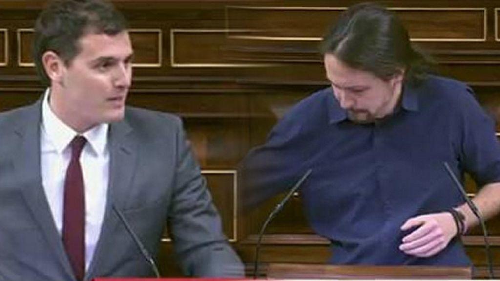 """Albert Rivera, a Pablo Iglesias: """"A ver si es verdad que esa defensa de los derechos humanos la hace en todo el mundo"""""""